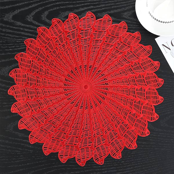 WANTU JH8008 RED Vinyl Placemat