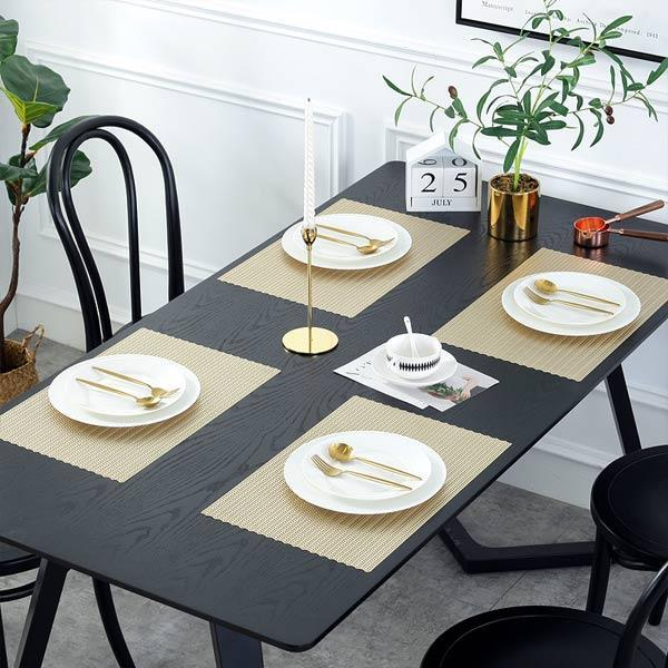 WANTU JH8005 GOLD Vinyl Placemat